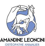 Ostéopathe équin, canin, félin LEONCINI Amandine Logo