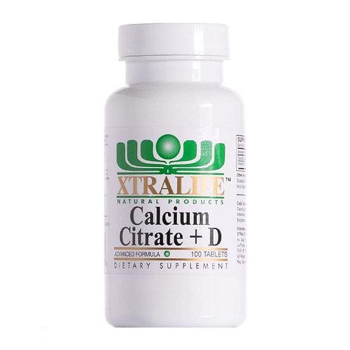 Calcio Citrate + Vitamina D