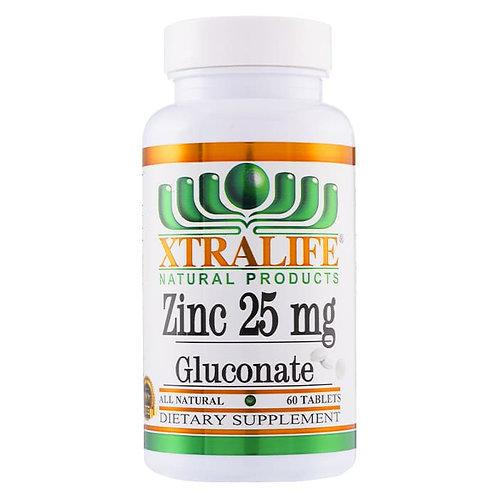 Zinc Gluconate 25 mg.