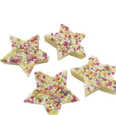 White jazzie stars (V)
