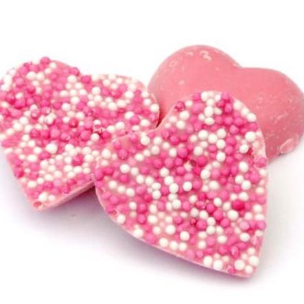 Pink jazzie hearts