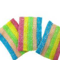 Fizzy rainbow bites (DF)