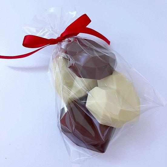 BELGIAN CHOCOLATE HEARTS BAG