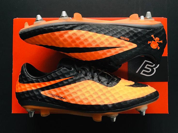 Nike Hypervenom Phantom I Citrus Orange / Black Size UK 7.5 SG Pro