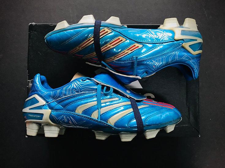 adidas Predator Absolute David Beckham Blue FG UK Size 9