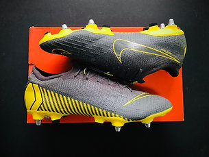 "Nike Mercurial Vapor 360 Elite SG Pro ""Game Over"" - Grey / Yellow UK Size 9"