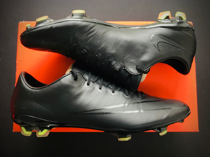 Nike Mercurial Vapor X FG Black Academy Pack - UK Size 9
