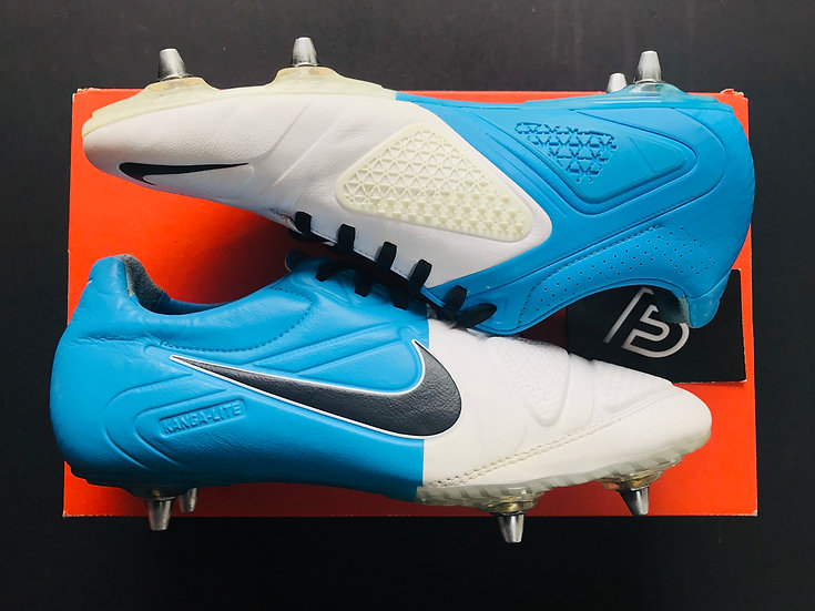 Nike CTR360 Maestri II Clash Collection - White / Blue SG UK 8.5