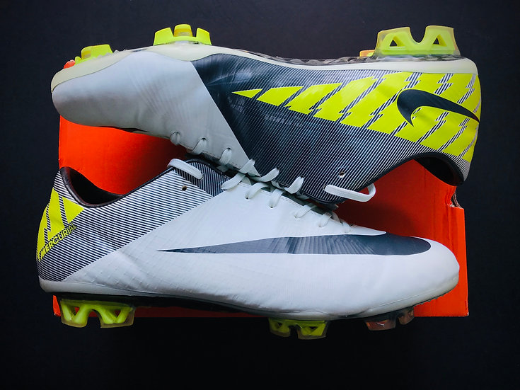 Nike Mercurial Vapor Superfly III Trace Blue / Anthracite / Volt UK 10.5