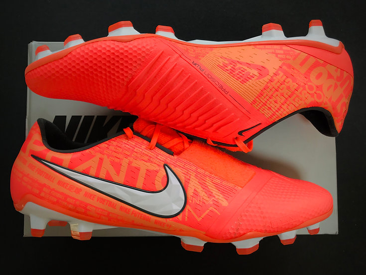 Nike Phantom Venom - Bright Mango / White / Orange Pulse FG UK 10.5