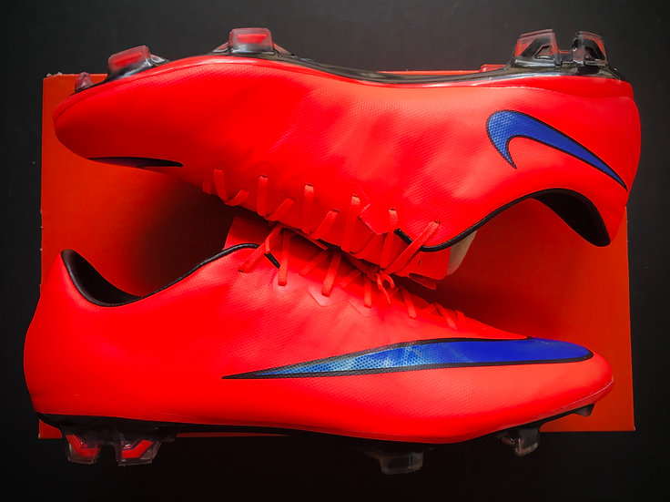 "Nike Mercurial Vapor X ""Intense Heat Pack"" Bright Crimson / Persian FG UK 9.5"