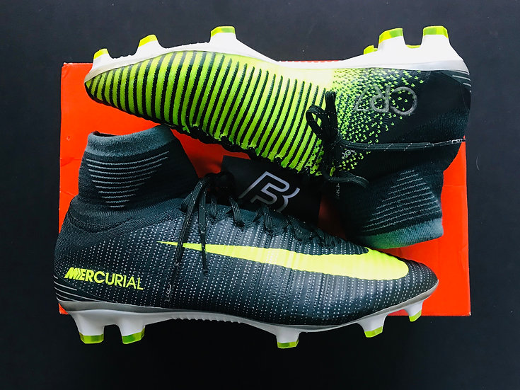Nike Mercurial Superfly V CR7 Chapter 3: Discovery FG - Seaweed / Volt UK Size 8