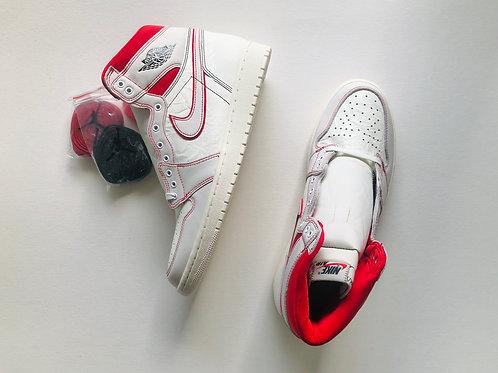 Jordan 1 Retro High Phantom red/white