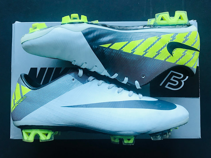 Nike Mercurial Vapor Superfly III Trace Blue / Anthracite / Volt UK Size 8