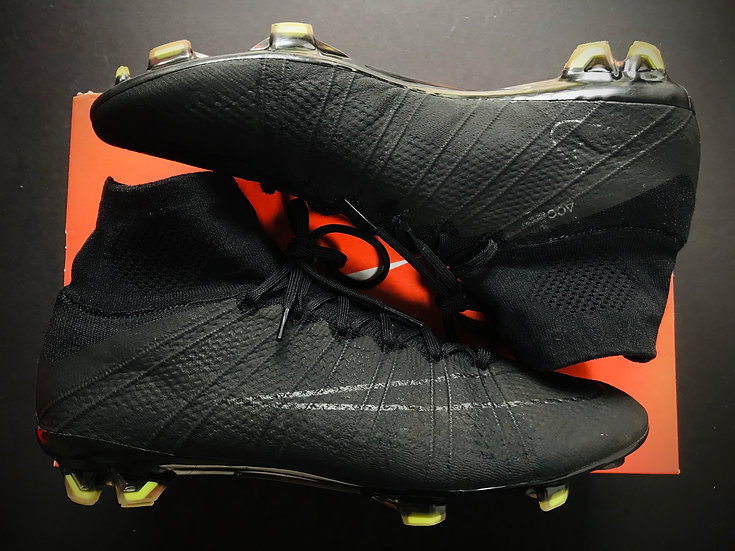 Nike Mercurial Superfly FG Black Academy Pack - UK Size 9