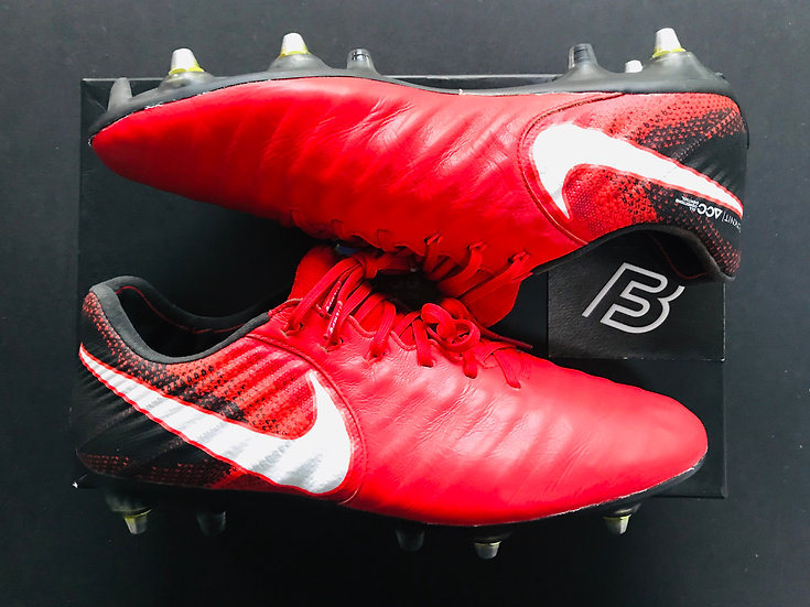 Nike Tiempo Legend VII - University Red / Black / White Fire SG AC UK Size 8