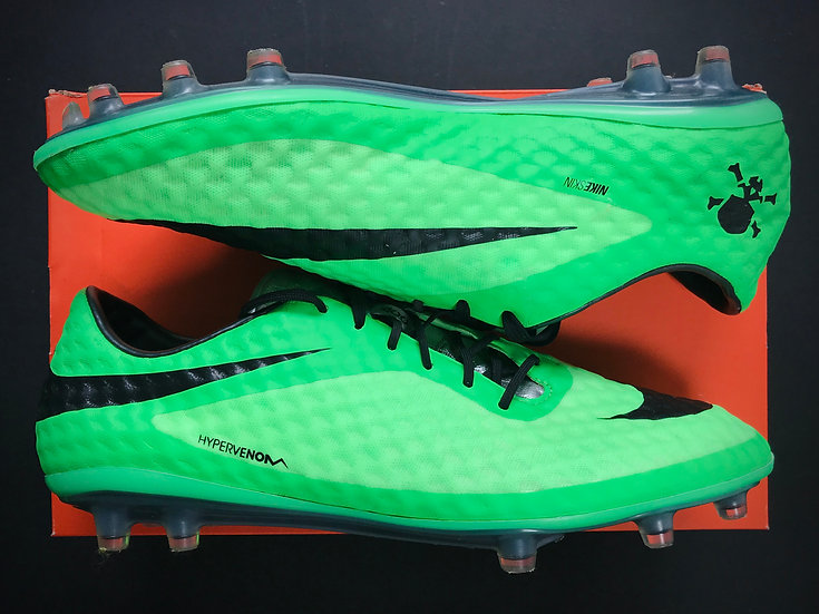 Nike Hypervenom Phantom I Neo Green FG UK 10