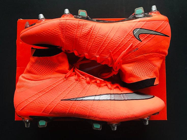 "Nike Superfly IV ""Mango"" Carbon Fibre SG Pro UK Size 10.5"