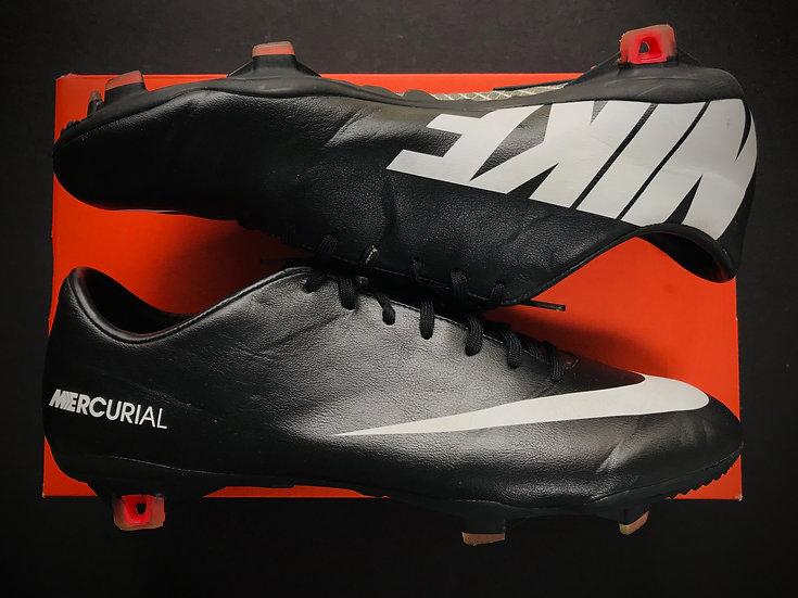 Nike Mercurial Vapor IX FG Leather Finish UK Size 9.5