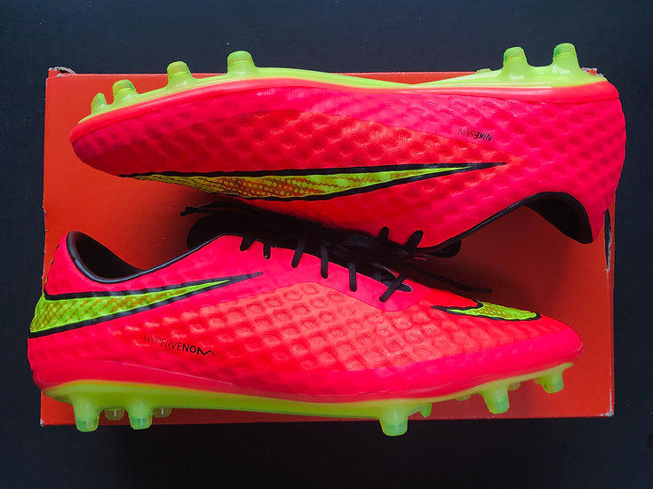 Nike Hypervenom Phantom I Hyper Punch World Cup FG UK Size 9