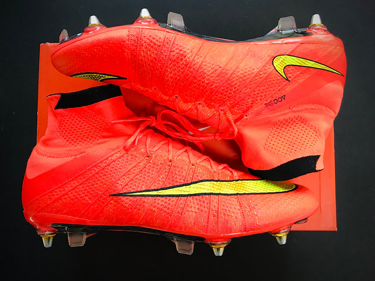 """Nike Superfly IV """"World Cup"""" Carbon Fibre - Hyper Punch SG Pro - Size  UK9"""