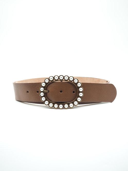 Cinturón Perlas Ovalada
