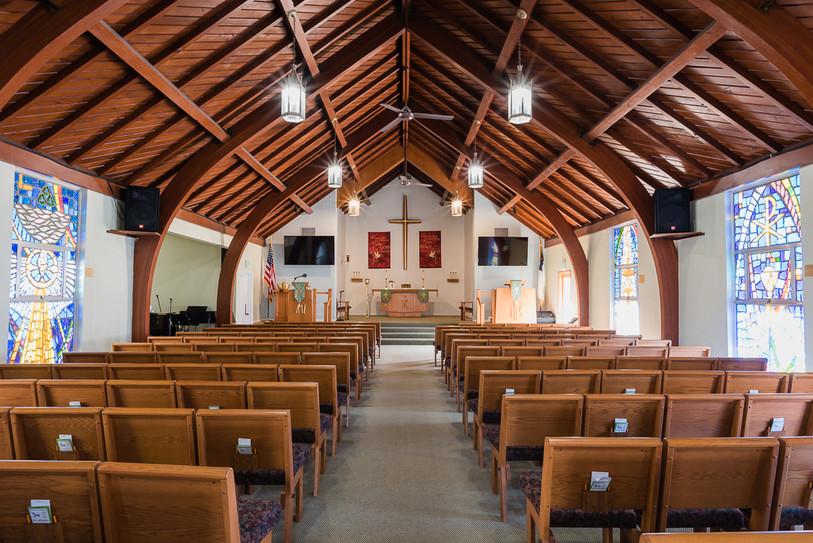 Inside our Chapel