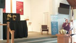 Baptismal Puppet Show!