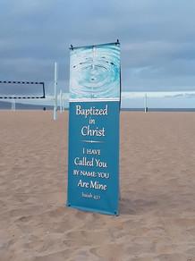 An Easter Baptism!