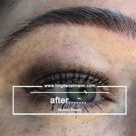 After❗️....alles ist möglich mit der richtigen Permanent Make-up Technik❗️☺️🐇Die Ergebnisse spreche
