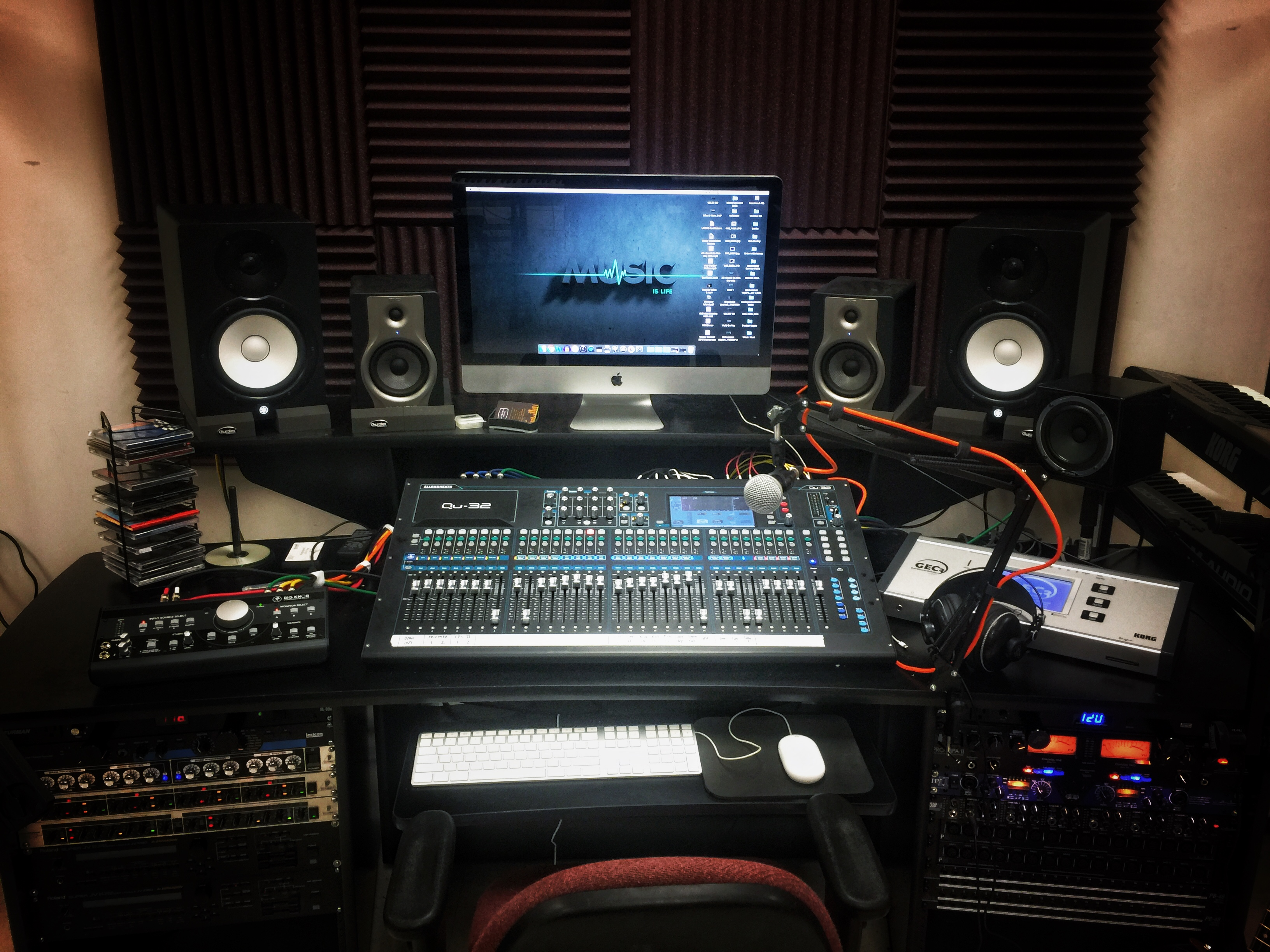 Studio Main Desk