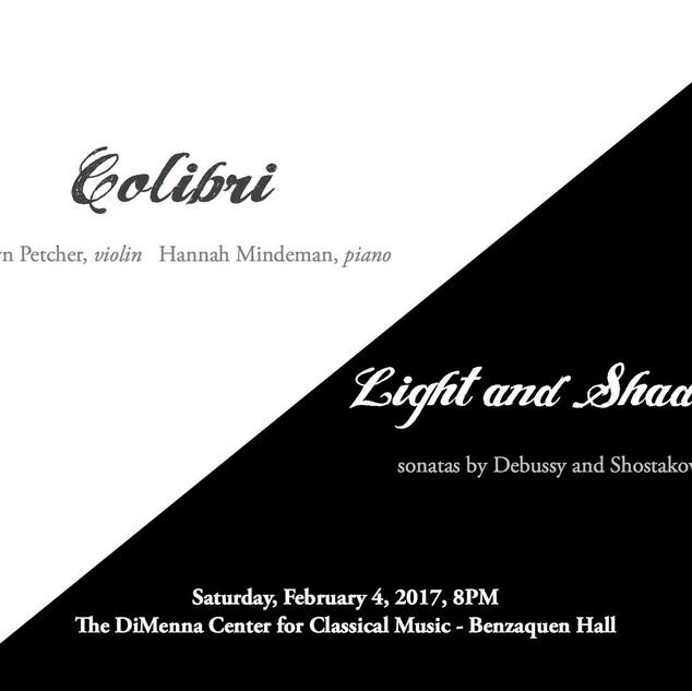 C. Debussy: Sonata for violin and piano, Allegro Vivo
