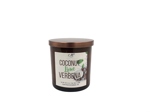 Coconut Lime Verbena Candle 11oz Vessel