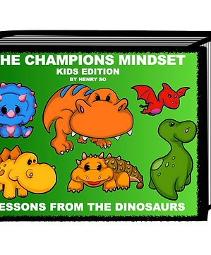 The Champions Mindset - Lessons from the Dinosaurs Book and Puzzle