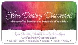 Your Destiny Discovered