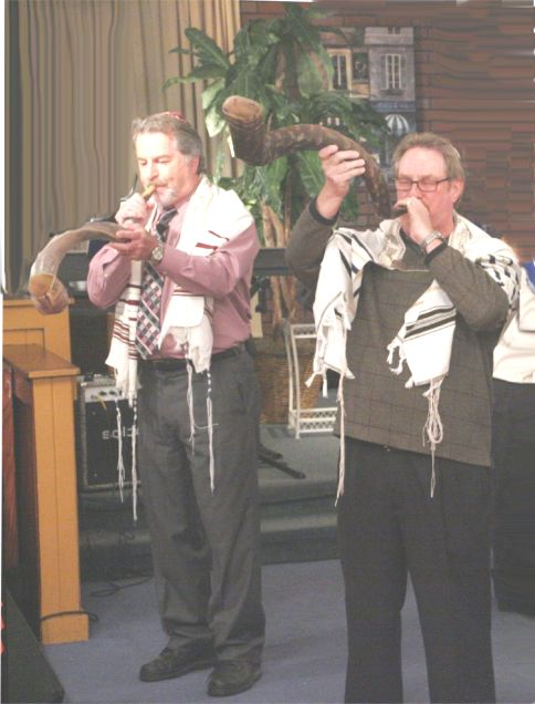 Shofar blasts