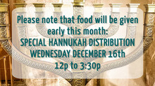 Hannukah Food Distribution