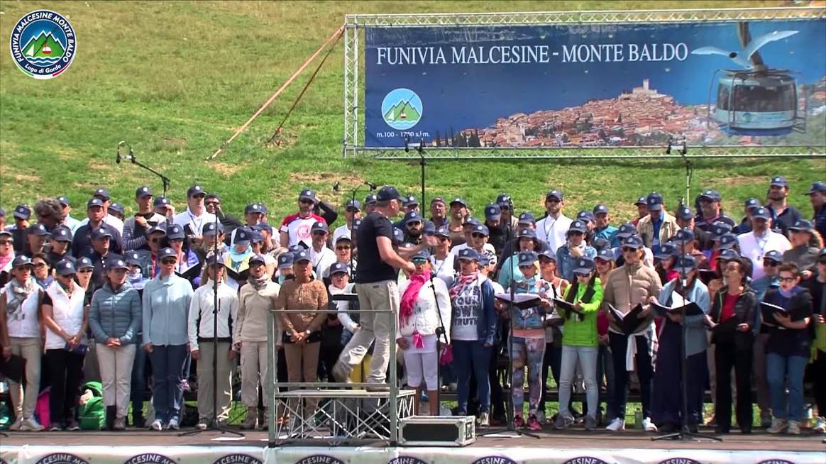 Coro dell'Arena sul Monte Baldo