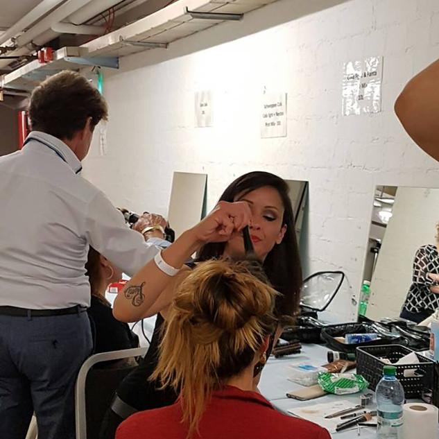 Backstage Fashion Sh