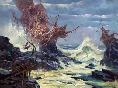 Weathering a Storm on the Napsidian Coast