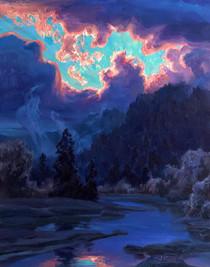 Sunset Splendor over the Willamette