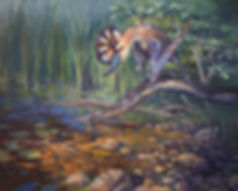 Mi-Go lovecraft creature painting illustration art jordan walker