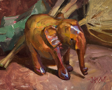 The Wooden Elephant