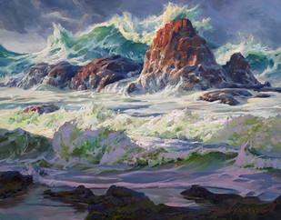 Sea foam Greens