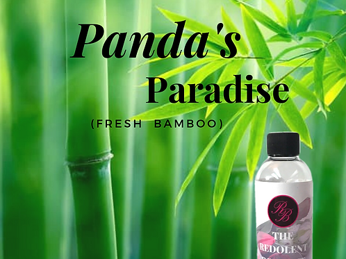 Panda's Paradise:  (Fresh Bamboo) Lamp Fragrance 250 mL