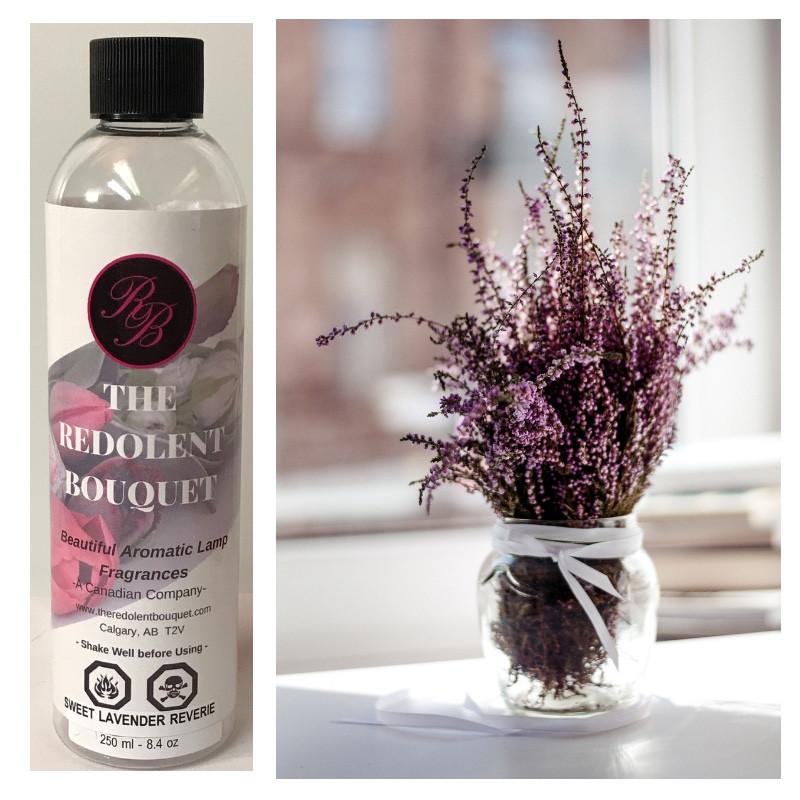 The Redolent Bouquet:  Sweet Lavender Reverie Home Fragrance
