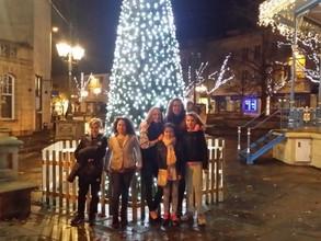Christmas shopping in Horsham