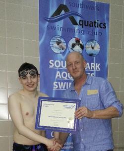 Jack Petchey Easter Award winner.