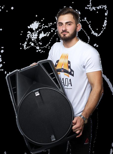 Доставка звукового оборудования в Омске Армада шоу