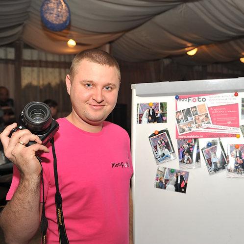 Печать фото на мероприятии + фотограф